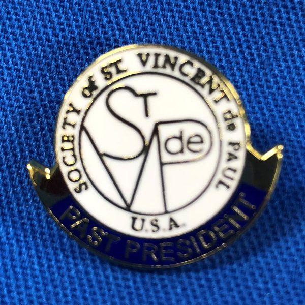 SVdP-Past-President-Pin